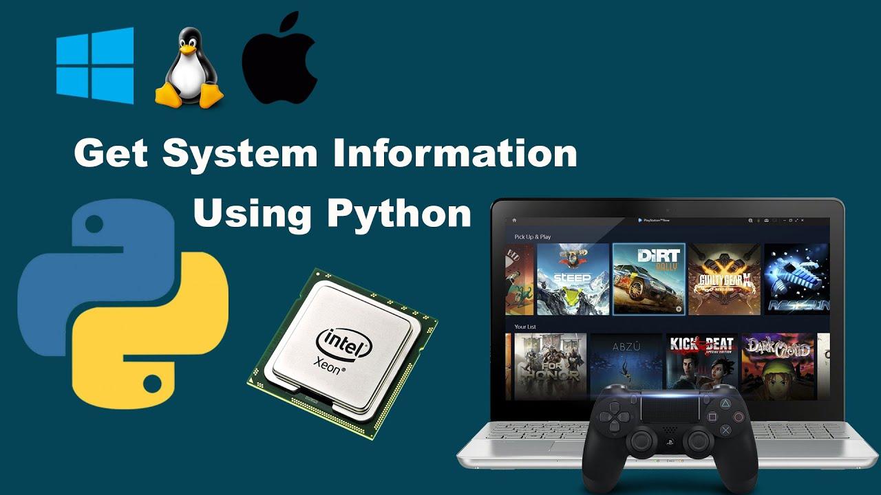 Get System Information using Python