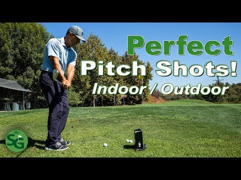 How to Hit Golf Pitch Shots Indoor or Outdoor with Precision | Mr. Short Game
