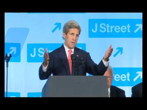 Secretary of State John Kerry at the 2016 J Street Gala