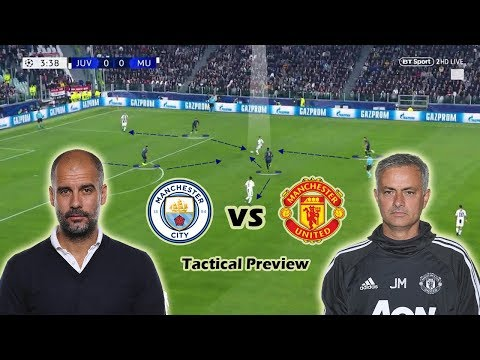 Manchester City vs Manchester United | Tactical Preview | Guardiola vs Mourinho Mp3