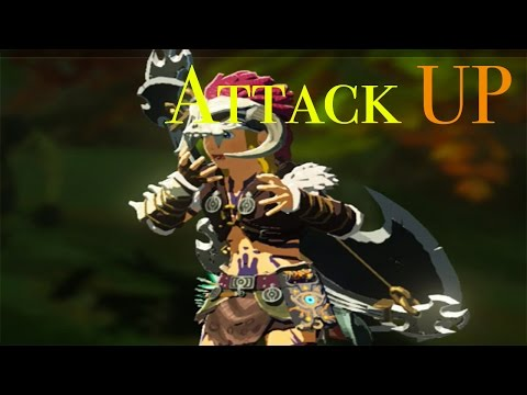 Breath Of The Wild - How To Obtain The Barbarian Armor (Attack Damage Equips!)