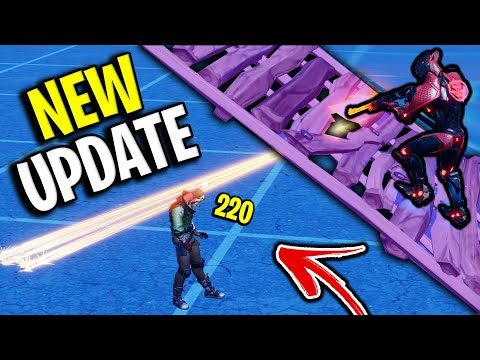 Epic Games Changed How RAMPS Work In Fortnite! (New Update)