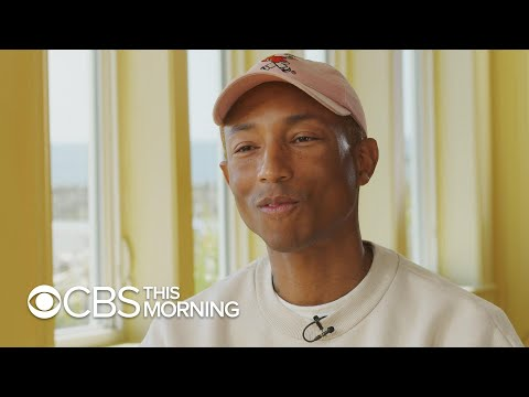 Pharrell Williams Tells Gayle King About His Skincare Routine
