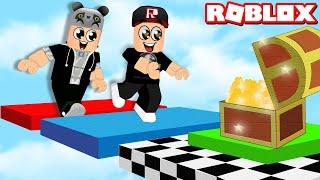 Parkur Yarışını Kazan ve Gücünü Göster!! - Panda ile Roblox The Great Obby Race