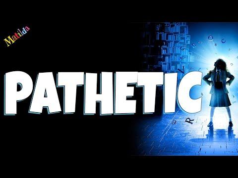 Pathetic Matilda the musical Karaoke instrumental backing track