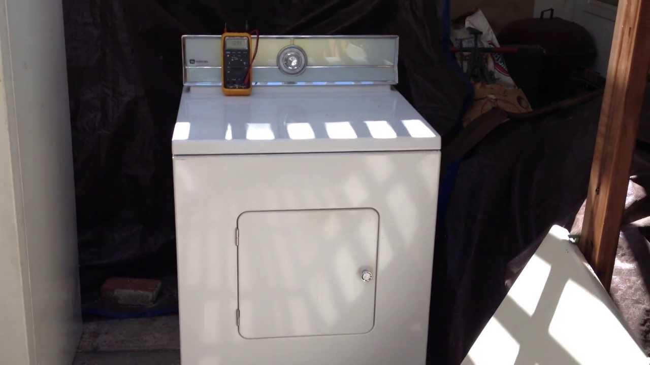 1971 Maytag Model De806 Electric Dryer