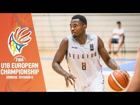 Estonia V Belgium - Full Game - FIBA U18 European Championship Division B 2019