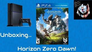 Unboxing Horizon Zero Dawn de PS4 (Porque no hay para Xbox One 😏)