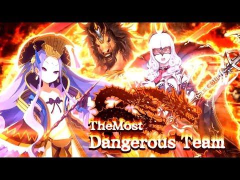 【FGO JP】Christmas 2018 Event - The Most Dangerous Team vs Xiang Yu / Consort Yu