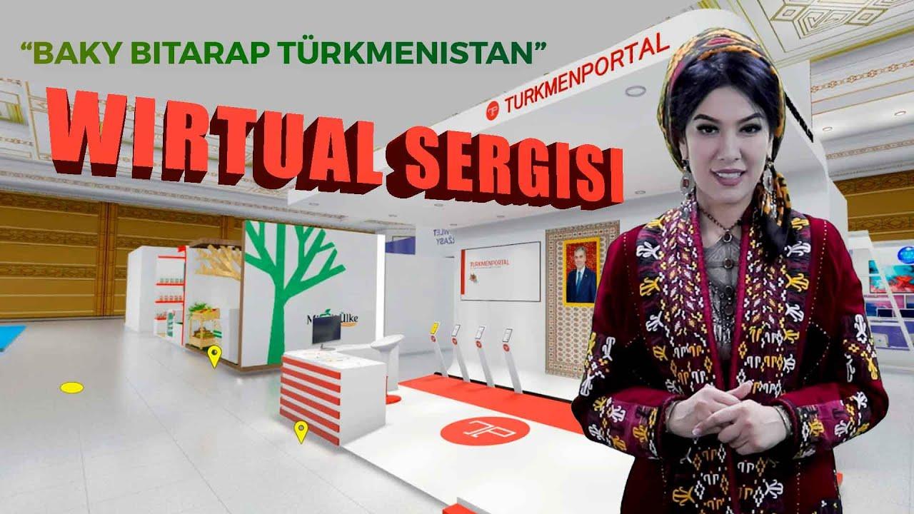 Türkmenistanyň ilkinji wirtual sergisi 🇹🇲🖥️