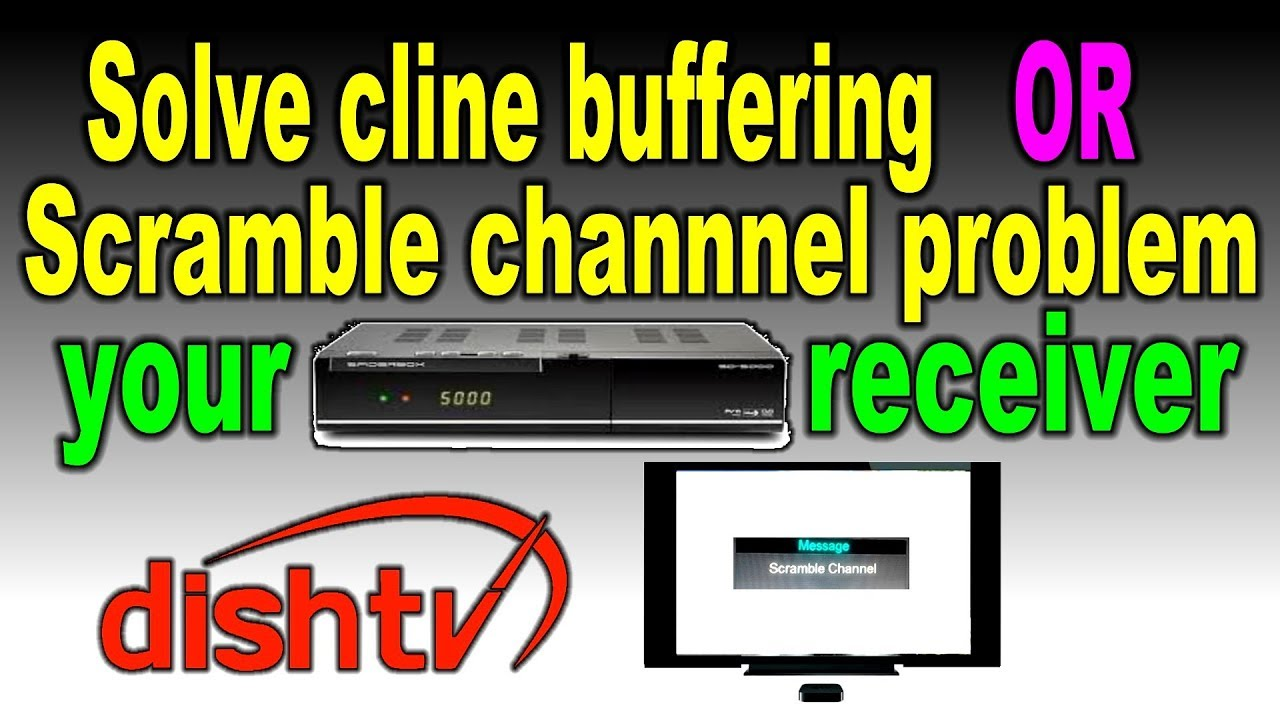 Solve cline buffering or scramble channel problem your receiver