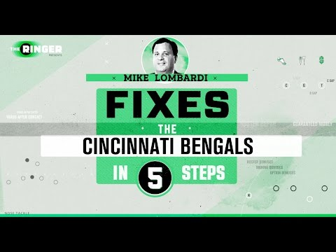 How to Fix the Cincinnati Bengals in Five Steps | Michael Lombardi | The Ringer