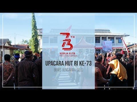Meriahnya Upacara Hut RI Ke 73 di BBWS Bengawan Solo #BBWSBengawanSolo #IndonesiaMerdeka thumbnail
