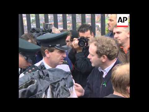 NORTHERN IRELAND: PROTESTORS CLASH WITH POLICE UPDATE