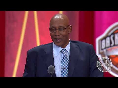 George McGinnis' Basketball Hall of Fame Enshrinement Speech