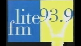 1995 ad for WLIT The Lite - 93.9 FM  in CHICAGO