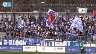 31. Spieltag: Stuttgarter Kickers vs. Astoria Walldorf-Spielbericht+Interviews