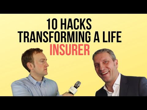 #insurer: 10 Hacks transforming a 150 year old life #insurance carrier - the #LV1871
