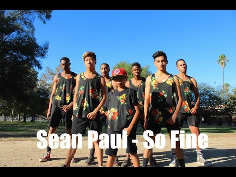 Sean Paul - So Fine | Hamilton Evans Choreography