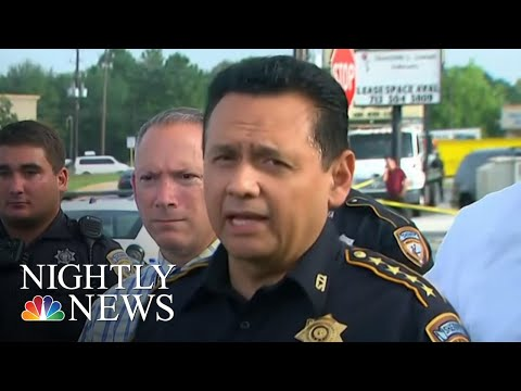 Suspected Houston Serial Killer Spotted By News Crews, Captured By Police | NBC Nightly News