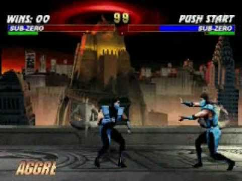 Mortal Kombat Trilogy: Classic Sub-Zero Very Hard Champion Ladder