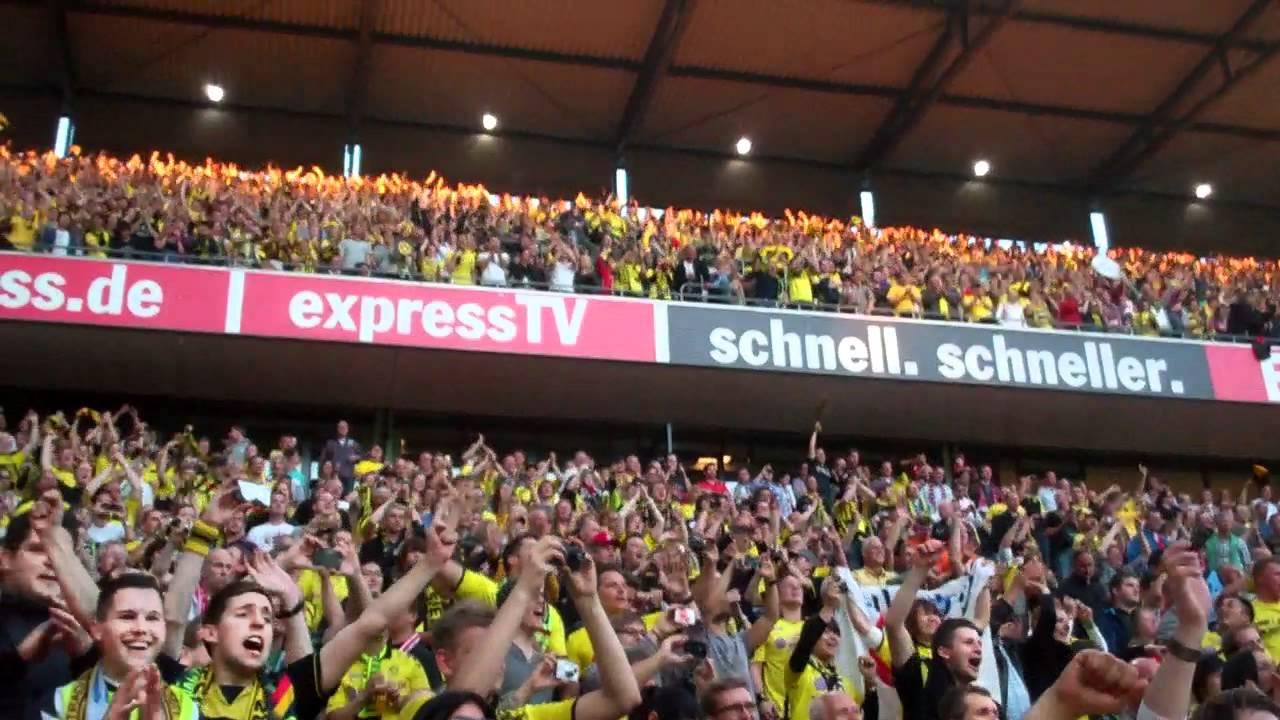Gästefans in Köln