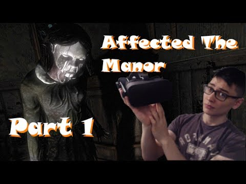 OCULUS HORROR GAME - Abandoned The Manor Part 1