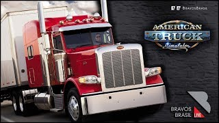 🔴► AO VIVO American Truck Simulator #27 Heavy Cargo Pack