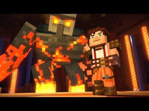 Minecraft: Story Mode - Giant Magma Golem!  - Season 2 - Episode 4 (18)