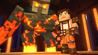 Minecraft: Story Mode - Giant Magma Golem!  - Season 2 - Episode 4 (17)
