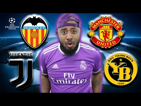 Group H | Juventus, Man United, Valencia, Young Boys | UCL Predictions