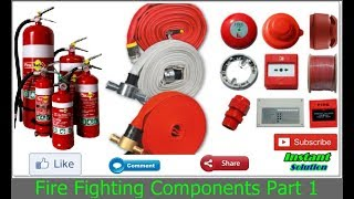 Fire Fighting Equipments Part 1 in Hindi/Urdu Tutorial By (Umang Rajput)