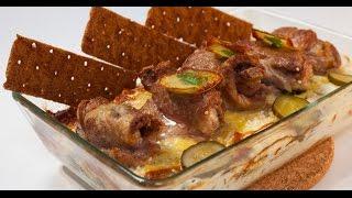 Карельское жаркое из свинины и сельди | Мясо. От филе до фарша