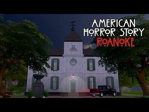Construindo a Casa da American Horror Story: Roanoke | The Sims 4