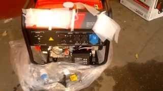 видео Бензиновый генератор Fubag BS 6600 DA ES