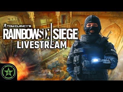 Let's Play - Rainbow Six: Siege - Siege and Steaks - AH Live Stream