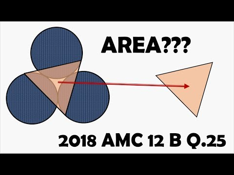#25 Geometry Problem on 2018 AMC 12 B