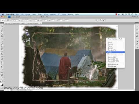 Photoshop Creating Re-usable Frame & Border