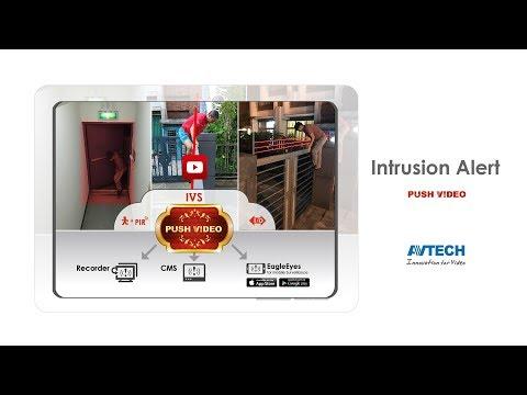 PUSH VIDEO - Intrusion Alert _AVTECH_EagleEyes