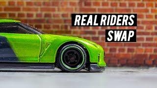 Gambar cover Quick Wheel Swap Hot Wheels Nissan Guaczilla 2.0 - JDM Fest   Season 2 Episode 1
