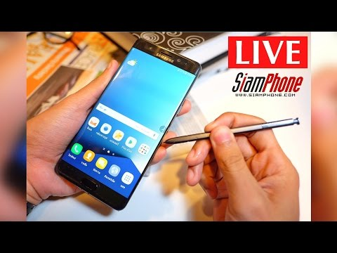 Samsung Galaxy Note7 Live Facebook by Siamphone