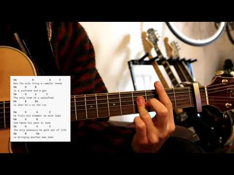 The White Buffalo - House of the Rising Sun( Sons of Anarchy  )Chords for beginners