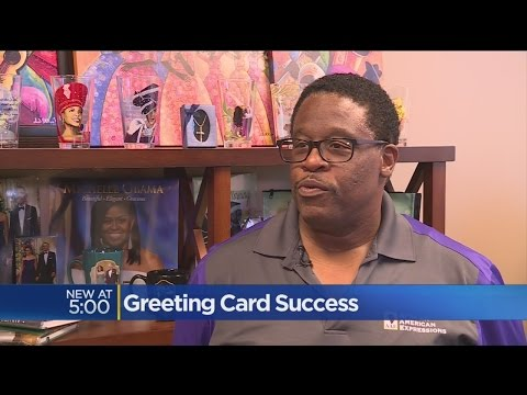 'Black Hallmark Of America' Celebrates 25 Years Of Greeting Cards In Sacramento