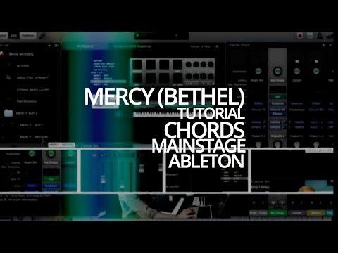 Tutorial for Mercy (Bethel) - chords, Mainstage, Ableton - GhanaTube ...
