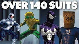 Every Unlockable Suit from Every Spider-Man Game EVER!