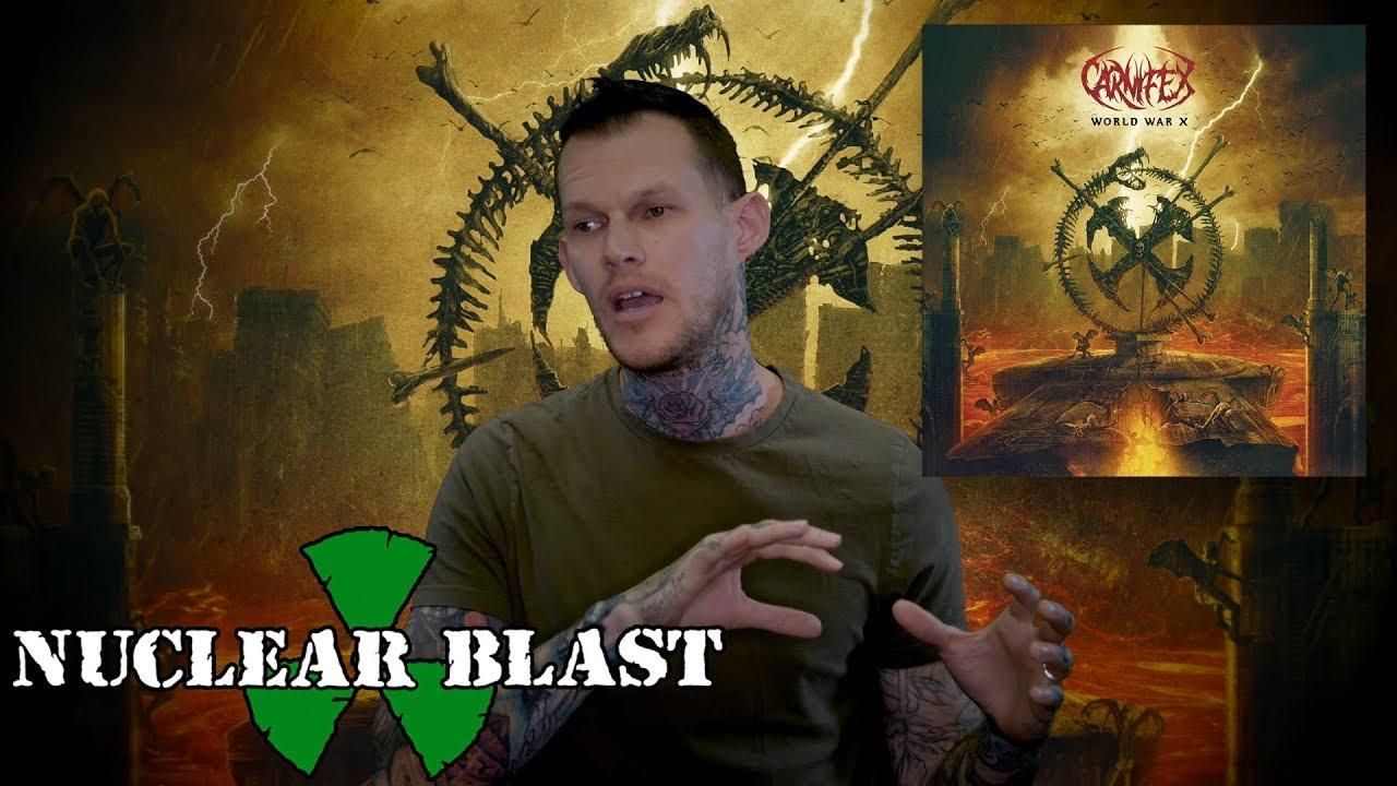 CARNIFEX — World War X: Album Title + Theme (OFFICIAL INTERVIEW)