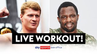POVETKIN VS WHYTE 2! | FULL OPEN WORKOUT 💪