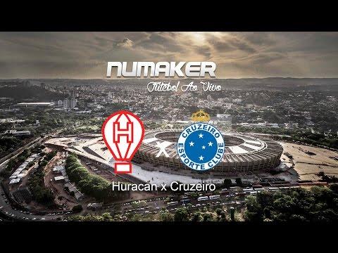 Huracan x Cruzeiro - 14/04 - SD AO VIVO