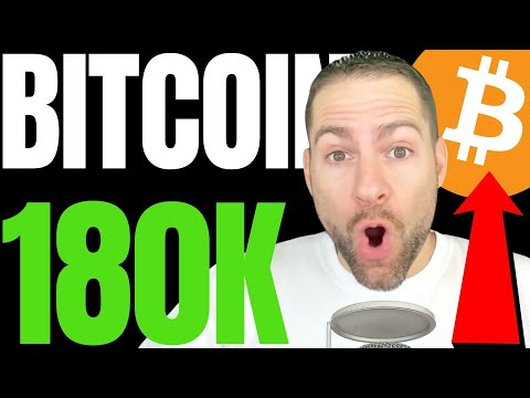 TOP CRYPTO ANALYST PREDICTS '$180K MASSIVE BITCOIN SURGE', SAYS BTC IS TRAPPING SELLERS!!