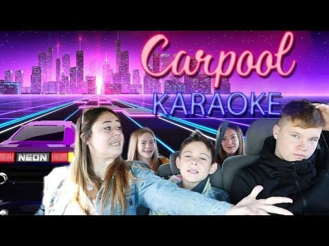 James Corden inspired Carpool Karoke